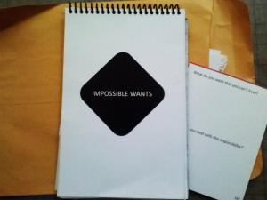 impossible wants notebook